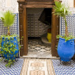 Stock Photo: Hotel's interior, Morocco,