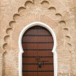 Very old wooden door of Morocco — Stock Photo