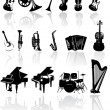 Royalty-Free Stock Vector Image: Music instrument vector