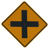 4-way Intersection — Stock Photo