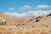 谷の農場 — ストック写真