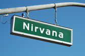 Nirvana sign — Stock Photo