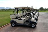 Golfcarts — ストック写真