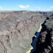 Stock Photo: Rio Grande Gorge