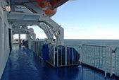 Lodní paluba — Stock fotografie