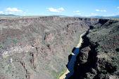 Rio Grande Gorge — Stock Photo