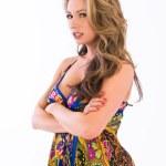 Paisley dress — Stock Photo #3942592