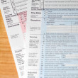 Tax forms — Stockfoto #4052785