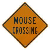 鼠标过境 — 图库照片