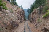 Railroad tracks — Stockfoto