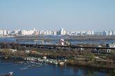 A big city — Zdjęcie stockowe