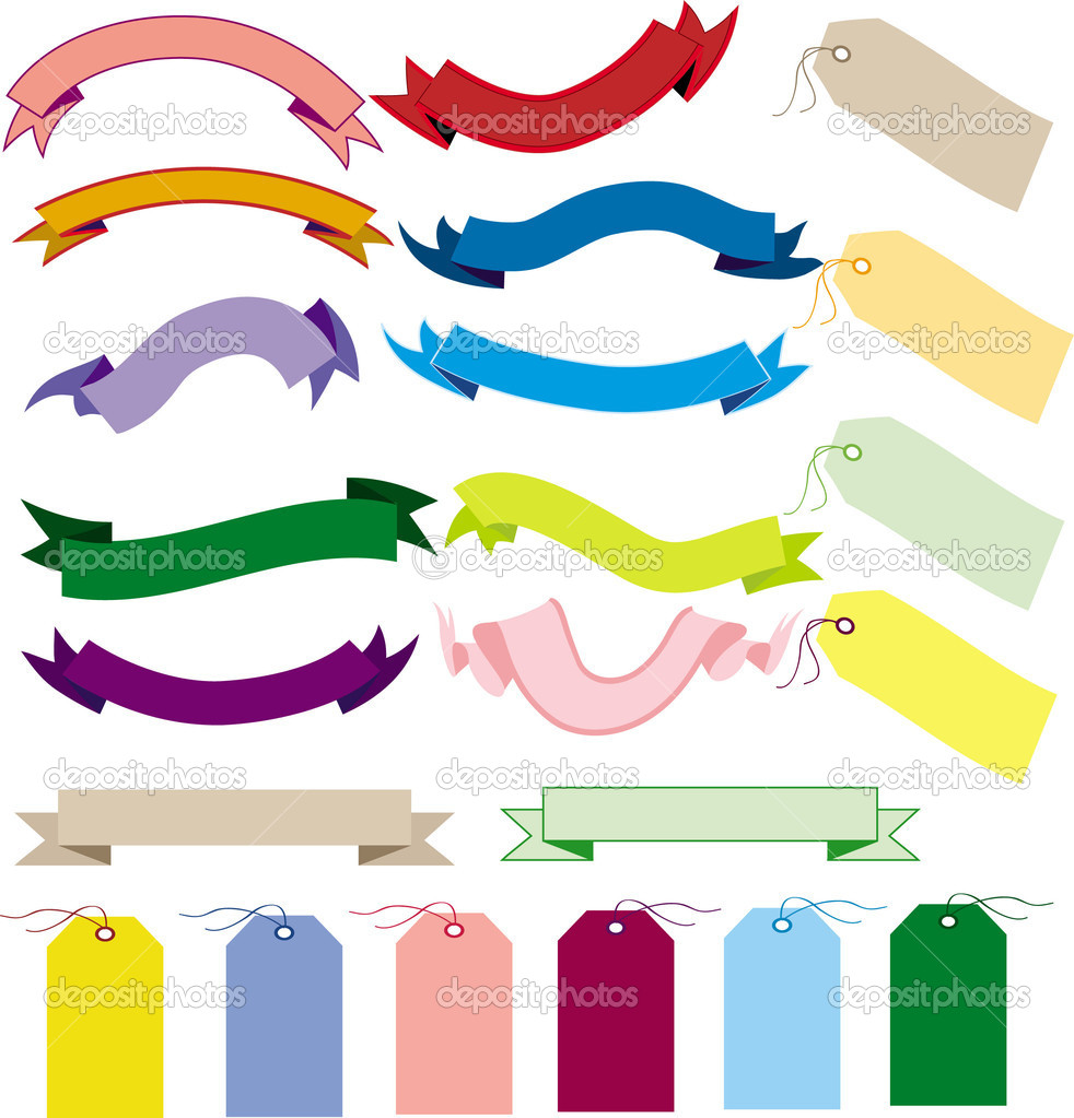 A set of banners and labels  Stock Vector #2969192
