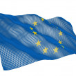 drapeau de l'UE nanotechnologique — Photo