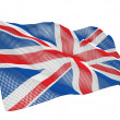 Britain nanotechnological flag — Stock Photo #2780924