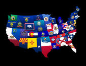 States of the US — Stok fotoğraf