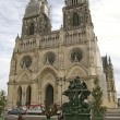 Gothic church orleans france — Stock Photo