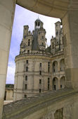 Chambord Castle Loire Valley detail view — Stock Photo