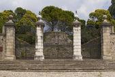 Castle entrance gate — Stock Photo