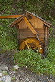 Watermill small scale — Stock Photo