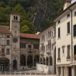 Stock Photo: Sqare in small old italitown