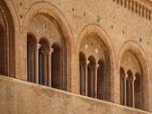 Arquitetura românica em parma-Itália — Fotografia Stock
