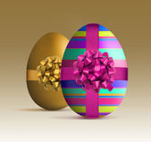 Luxury style easter egg — Stock Photo