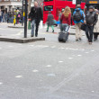 London bus street crossing — Stock Photo #2868000