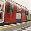 London underground tube — Stock Photo