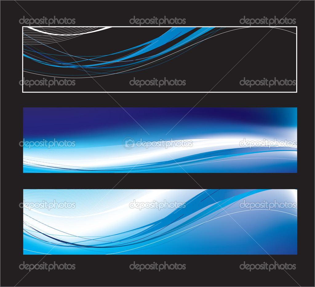 Website banners with space left for message  Stock Vector #2916073