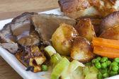 Sunday roast — Stock Photo