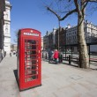 Red phone box, london — Stock Photo