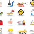 Construction and diy icon set - Imagen vectorial