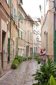 在地中海巷 — 图库照片