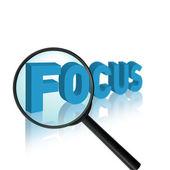 Focus concept — Stock Photo