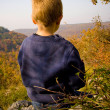 Stock Photo: Young child in the nature