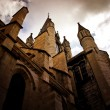 Church in dijon city france — Stock Photo