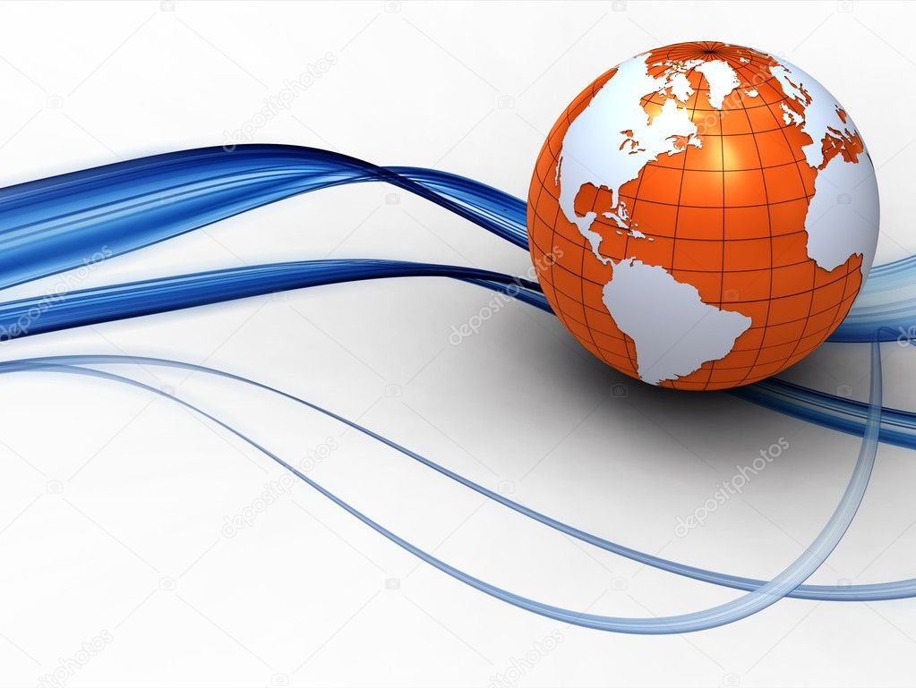 3d earth illustration — Stock Photo #2728657