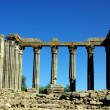 Ruins of roman temple - Stockfoto