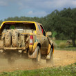 Car in competition in rally off-road. — Stock Photo #2879173