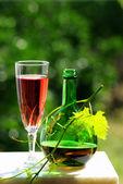 Wine rosé — Stock Photo