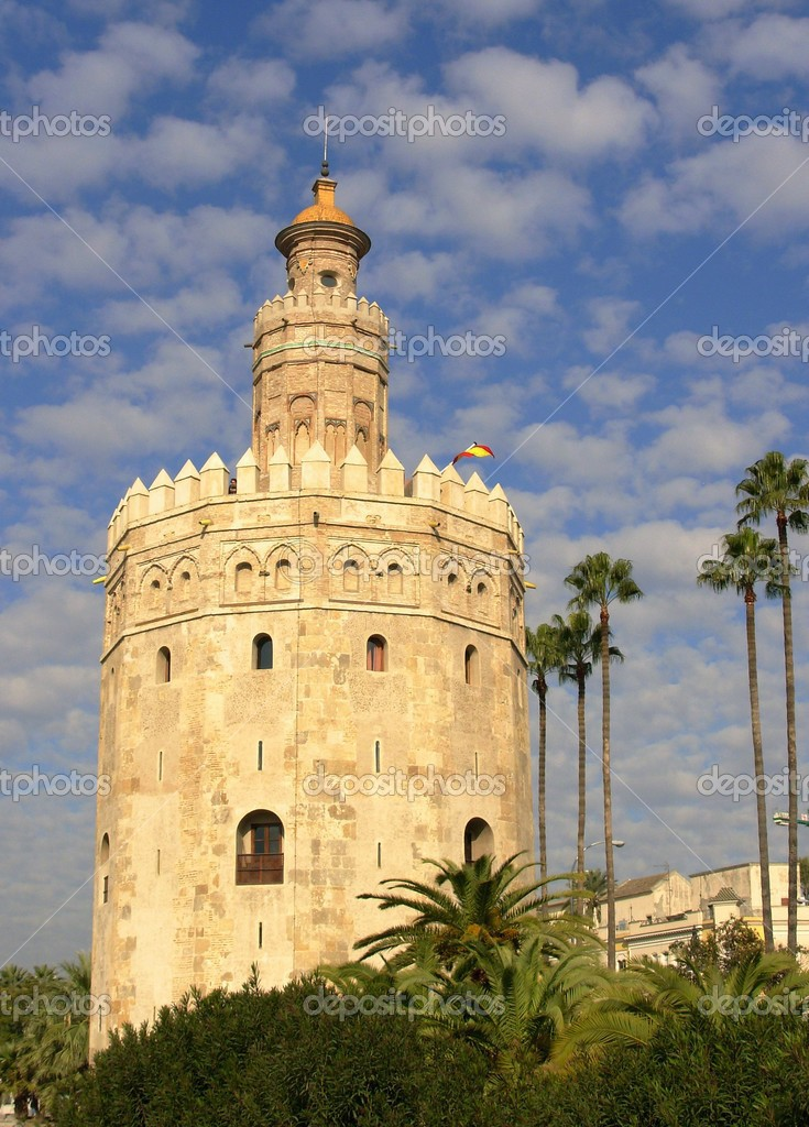 tower del oro — Stock Photo #2879833