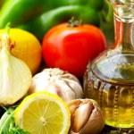 Bottle of Olive oil . — Stock Photo