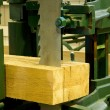 Постер, плакат: Ihdustrial band saw sawmill