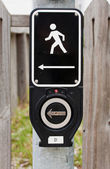 Electronic Walk Signal — Stock Photo