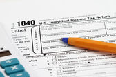 Tax Form — Stock Photo