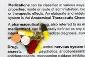 Medications — Stock Photo