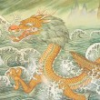 Buddhism Dragon — 图库照片