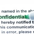 Confidential - Stock Photo