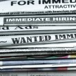 Stock Photo: Classified ads