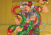 Oriental painting — Stock Photo